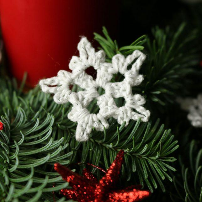 Advent Diy Schneeflocken Sterne Häkeln Eigenkreation