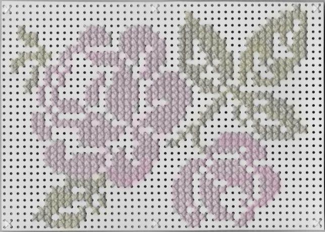 Stickvorlage Blumen Nummer 1