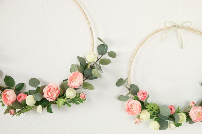 Endergebnis der beiden Floral Hoops