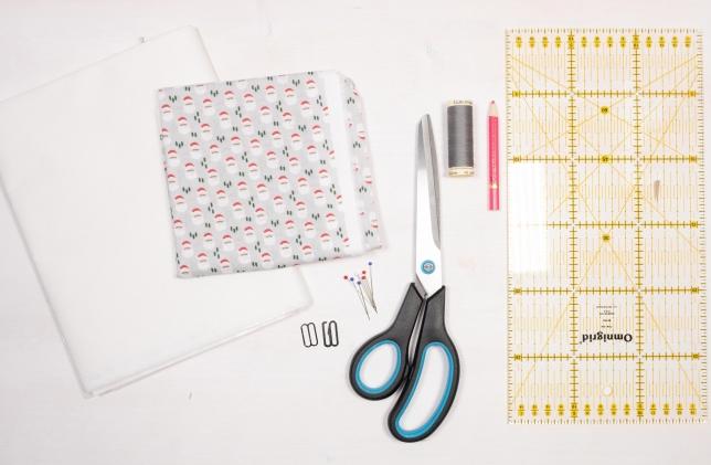 Material für die DIY Anzug-Fliege