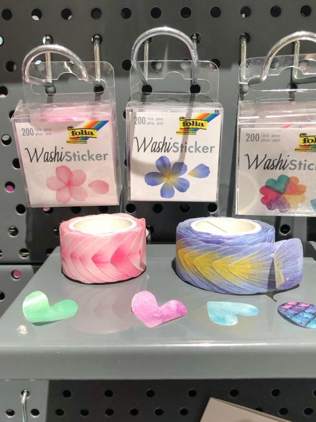 Washi Tape Blüten