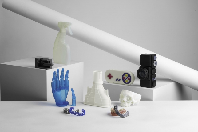 3D-Druck Stereolithografie Objekte von formlabs