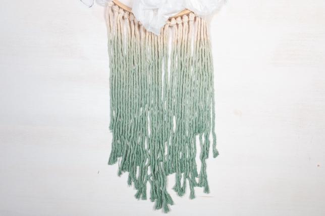Gefärbte Seile für einen Ombre Look